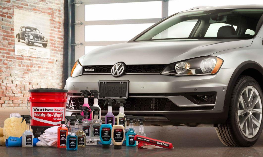 Diagram WeatherTech® TechCare® Launch Package for your Volkswagen CC