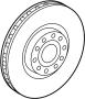 View Disc Brake Rotor Full-Sized Product Image