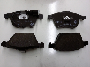 Disc Brake Pad Set (Front) image for your Volkswagen